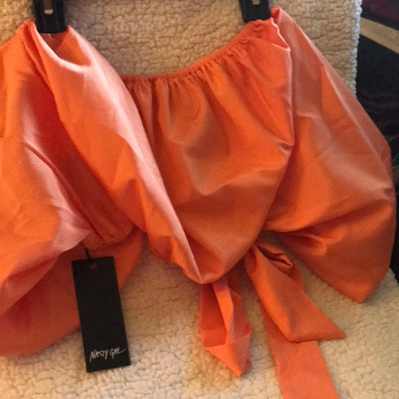 Nasty Gal Tops - Nasty gal orange top
